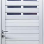 Nebentüre, passend zum Alu-Schnelllauftor