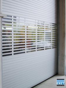 Schnelllauftor ASE-S/75, 2,0m/sek, Sichtfensterreihen, Zugseilschalter