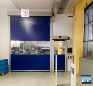High-speed doors Large Small