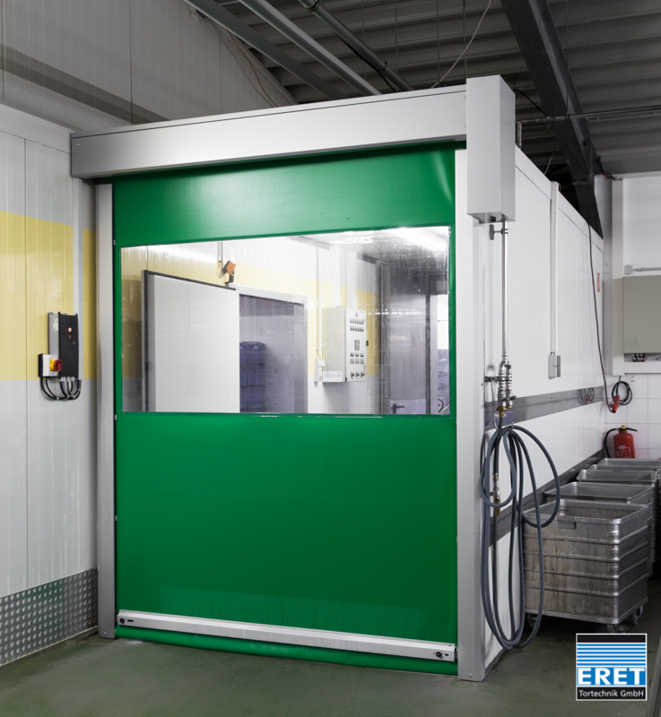 High-speed doors food & food production fast acting doors « Schnelllauftore | ERET: Das ...